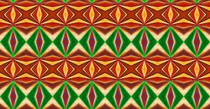 Vintage Pattern Kaleidoscope