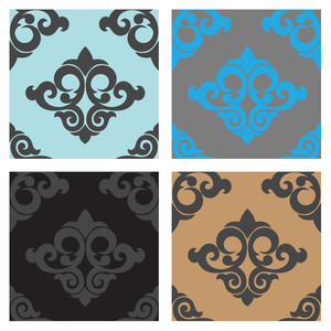 Vintage Seamless Patterns Vectors