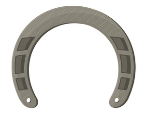 Vintage Shape Of Horseshoe Element