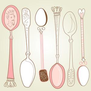 Vintage Spoons-