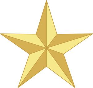 Vintage Star Shape