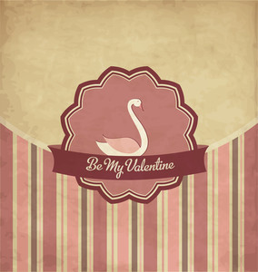 Vintage Valentines Day Design