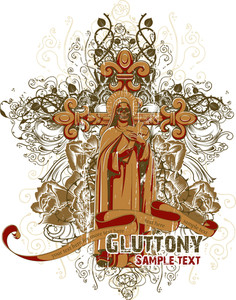 Vintage Vector T-shirt Design With Priest