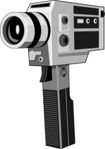 Vintage Video Camera Retro