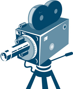 Vintage Video Movie Camera Retro