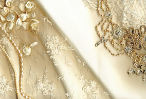 Vintage Wedding Dress Lace