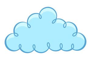Vintage Winding Cloud