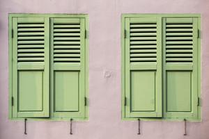 Vintage windows detail decoration