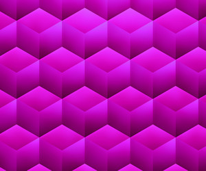 Violet Abstract Cubes Background