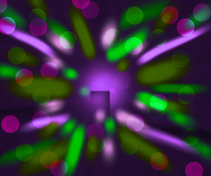 Violet Abstract Lights Background