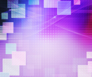 Violet Abstract Squares Background