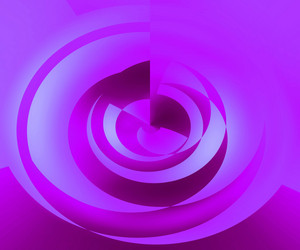 Violet Abstract Swirl Background