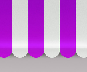 Violet Awnings Background