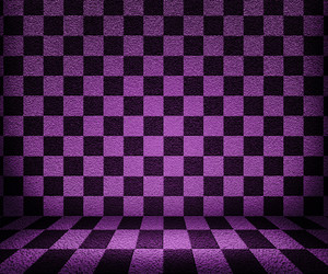 Violet Chessboard Room Background
