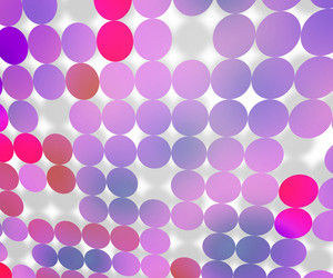 Violet Dots Background