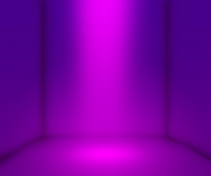 Violet Empty Interior Background