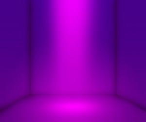 Violet Empty Interior Background