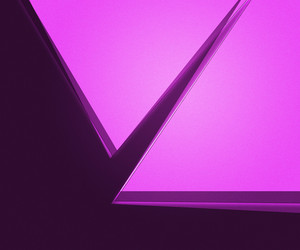 Violet Geometric Abstraction Background