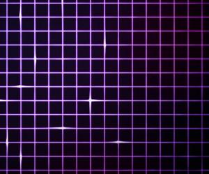 Violet Laser Light Grid Background