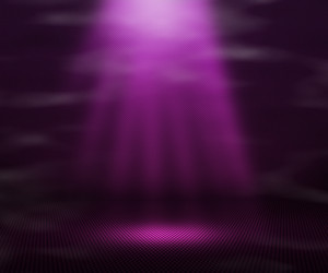Violet Magic Spot Light Background