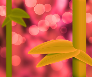 Violet Nature Bamboo Abstract Background