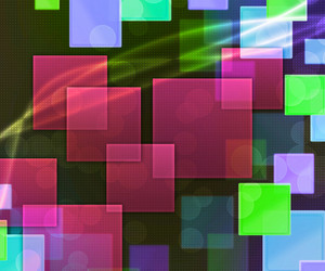 Violet Rectangles Abstract Background