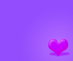 Violet Simple Valentine Background