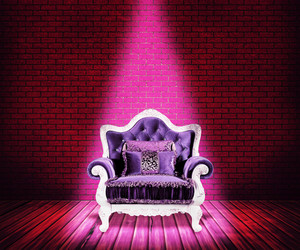 Violet Sofa Room Background