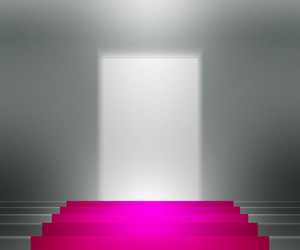 Violet Stairs Spotlight Background