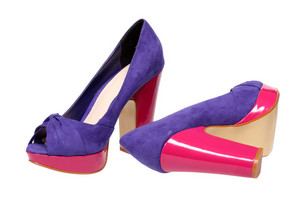 Violet Women S Heel Shoes