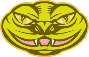 Viper Snake Serpent Head