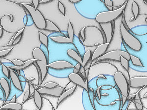 Vivid Flourish Background