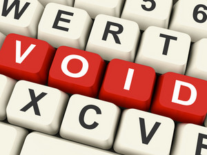 Void Keys Show Invalid Or Invalidated Online
