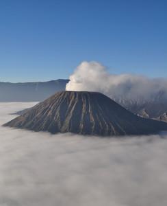 Volcano Bromo At Sunrise