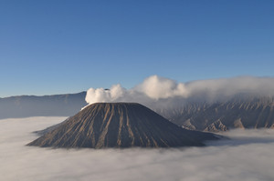 Volcano Bromo At Sunrise