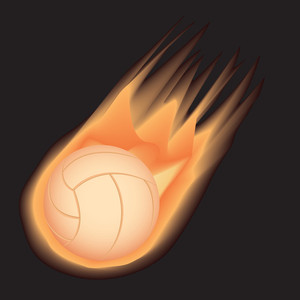 Volleybal-firel