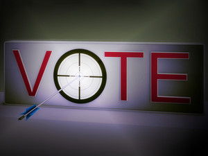 Vote Target Means Evaluation Choice And Decision