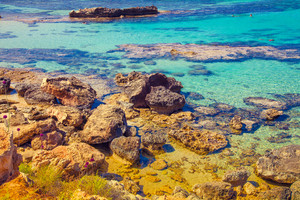 Igneous sea coast