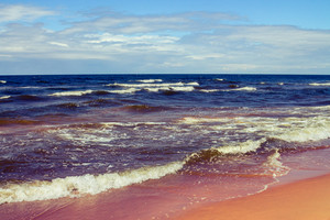 Beach in Jurmala