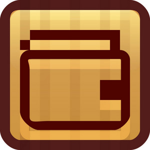 Wallet Brown Tiny App Icon