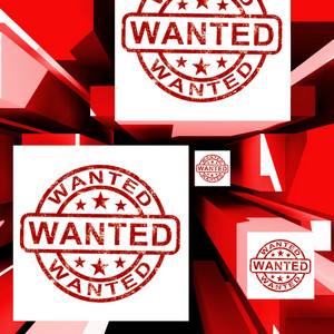 Wanted On Cubes Shows Needed