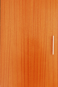 Wardrobe Wooden Door With Metal Handle