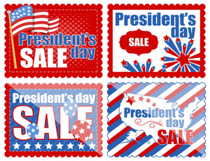 Washington Birthday Coupon And Banners