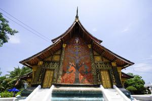 Wat Xieng thong temple,Luang Pra bang, Laos