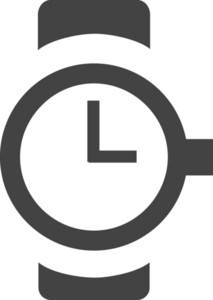 Watch Glyph Icon