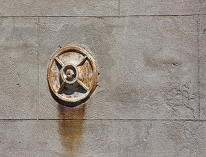 Water Hydrant In Wall