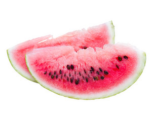 Water Melon Isolated On White
