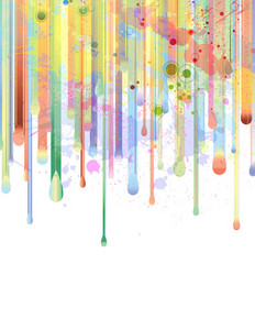 Watercolor Background Vector Illustration