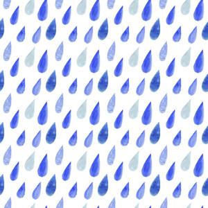 Watercolor Rain Drops