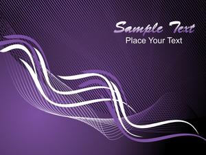 Wave Background Vector Illustration